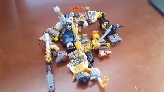 Мои самодельные Лего Минифигурки Стимпанк (обзор)