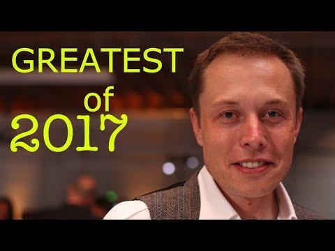Elon Musk: His Greatest Achievements of 2017