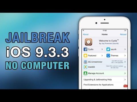 Actualización Jailbreak iOS 9.3.3 (Sin Computadora) LINK FUNCIONA!!!