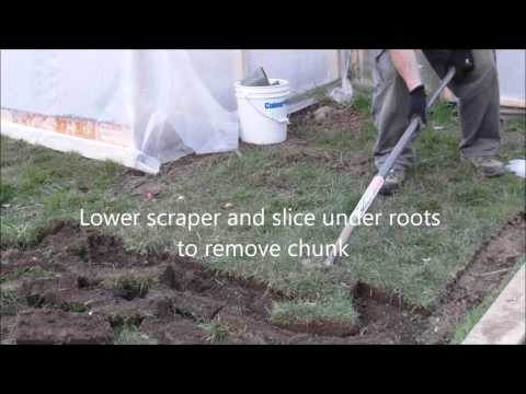 How to remove grass