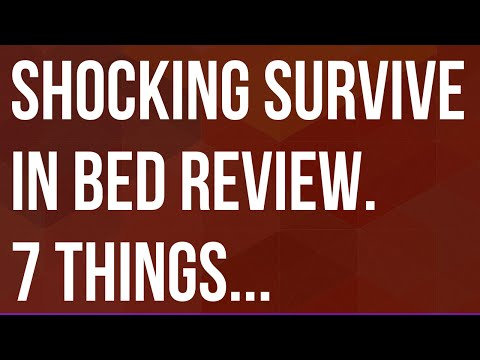 Survive In Bed Review | Survive in Bed Program Ratings ♥♥♥♥. Is Survive in Bed a Scam? | Download