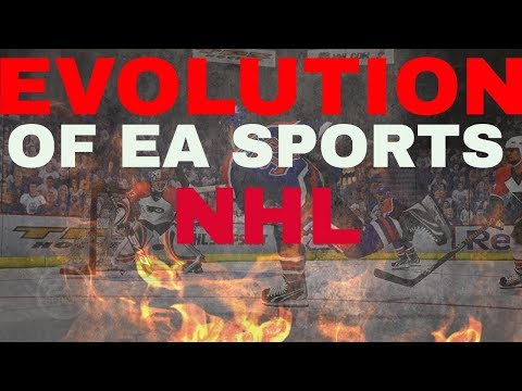 NHL 18 - THE EVOLUTION OF EA SPORTS NHL (History of NHL 08-18)