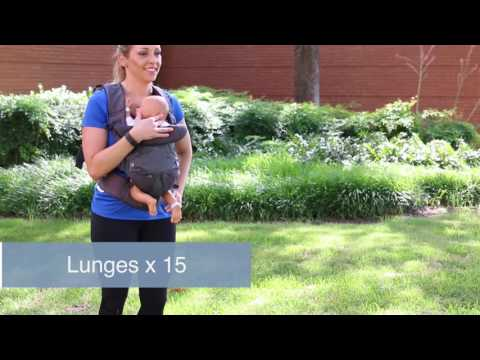 Post-Pregnancy exercising with your baby in a baby carrier