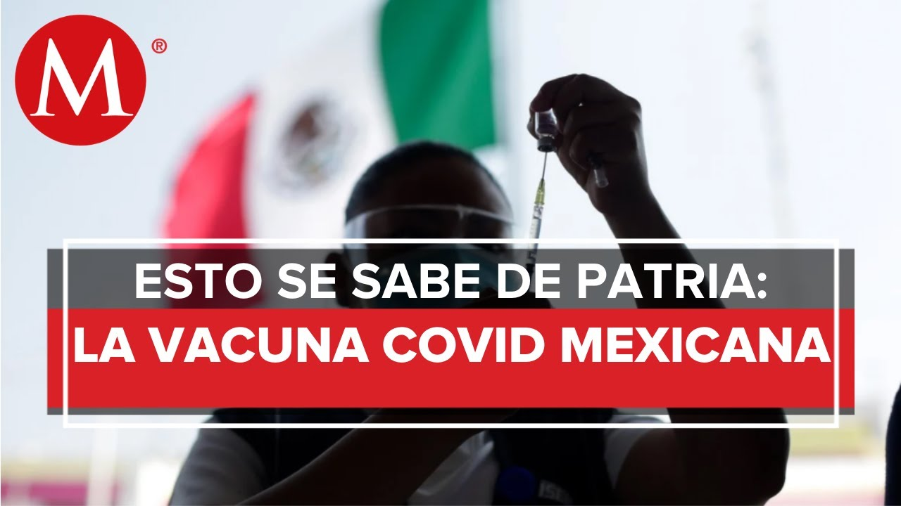 Patria: la primera vacuna anticovid mexicana