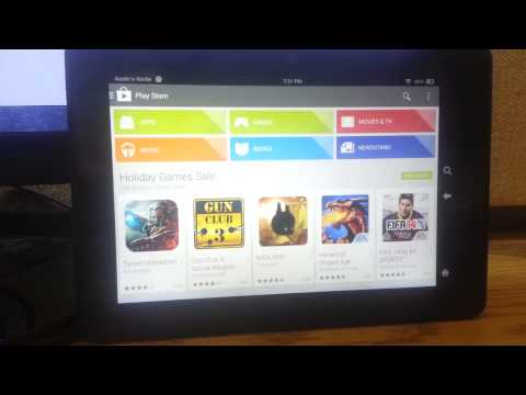 thor-gapps ROM for Kindle Fire HDX (Working Play Store!)