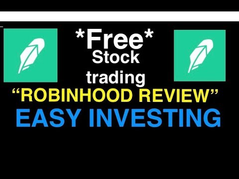 """""""Robinhood App Review"""" -  How To Invest In The Stock Market Free!"""