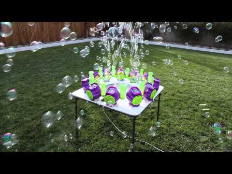 Bubble Storm: the World's Biggest Bubble Machine