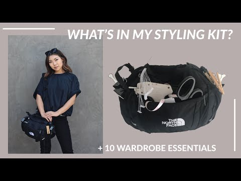 What's In My Fashion Styling Kit? Unboxing + 10 Wardrobe Essentials   JULIA SUH