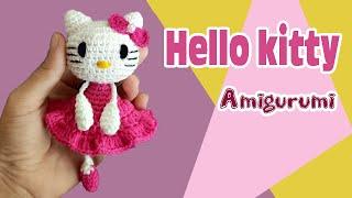 Boneca Hello Kitty Em Crochê – Material e Vídeo | Bigtudo Artesanato | 180x320