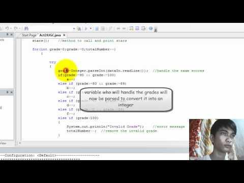 Computer Programming 1 (Grading System using sentinel value)
