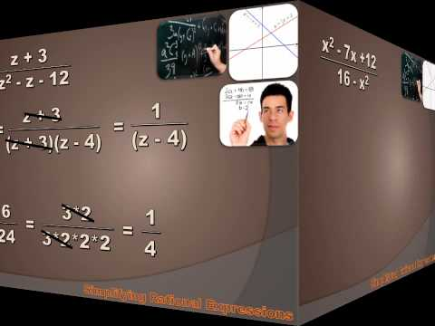 Algebra 1 - Simplifying Rational Expressions