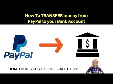 Drop Shipping 142 - How to transfer money from Paypal to Bank account Instantly💰