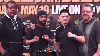 GARY RUSSELL VS. JOSEPH DIAZ - FULL FINAL PRESS CONFERENCE & FACE OFF VIDEO - LIVE