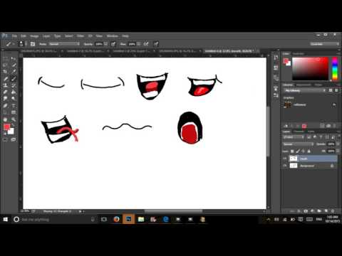 Learn to Draw Some Cartoon Mouths in Photoshop