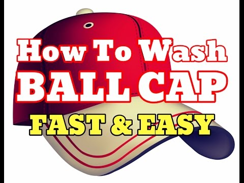 [NEW] How To Wash a Baseball Cap - Best Clean Your Ball Cap Hats [HD]