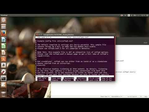 Tutorial cara membuat ftp server menggunakan vsftpd di Ubuntu