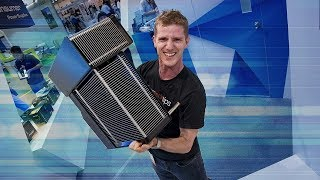 THIS HEATSINK IS OVER FORTY POUNDS!