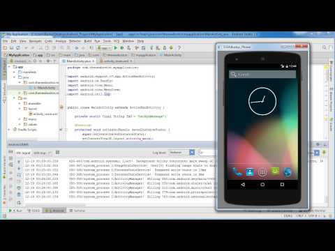 Android App Development for Beginners - 10 - Running the State Changing Example