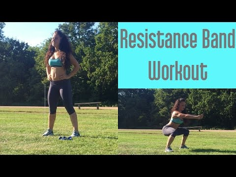 Butt and Legs workout with Resistance Bands