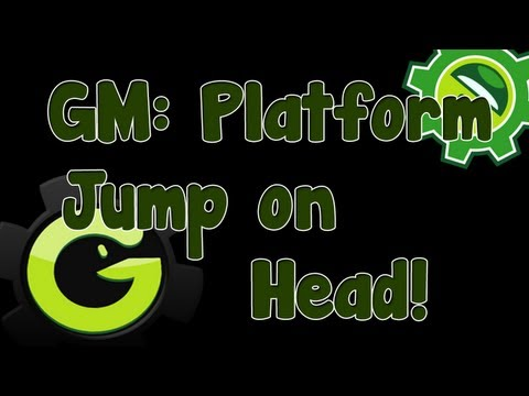 Game Maker Tutorial - Jumping on Head
