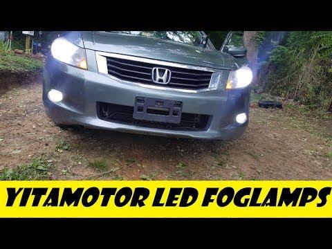 2008 (8th Gen) Honda Accord 1400 lm LED Foglamp Install from Yitamotor.