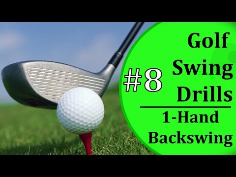 Easy Golf Swing Drills - #8: Back Swing Angle | Learn-To-Golf.com
