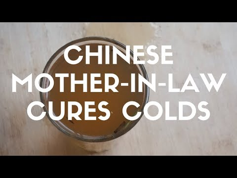 Natural Home Remedy for Cold and Cough // Chinese Home Remedies