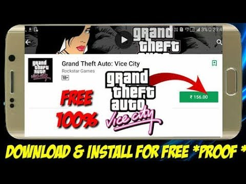 free grand theft auto vice city download for android