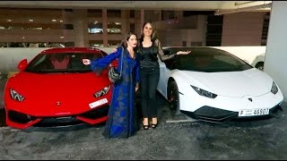 Girl Lamborghini Owners in Dubai !!!