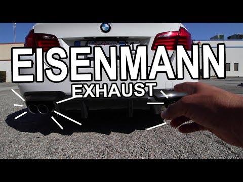 Eisenmann Axle Back Exhaust m52 F10 BMW 5 series