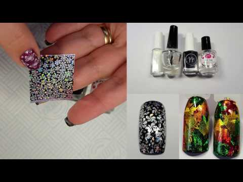 GSN DIY Video - Using Foil With Normal Nail Polish