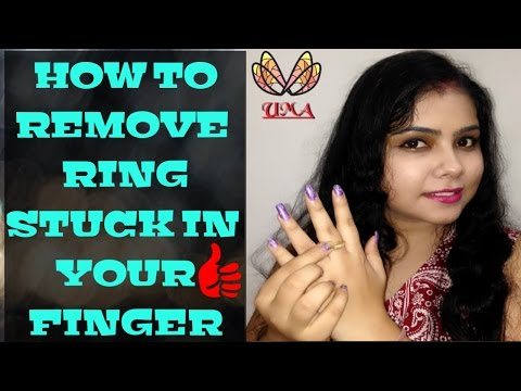 REMOVE TIGHT RINGS FROM YOUR FINGER, HOME REMEDIES MINUS PAIN#ring #diy #hack #tips # trick #finger