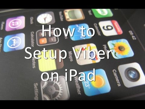 How to Setup Viber on iPad