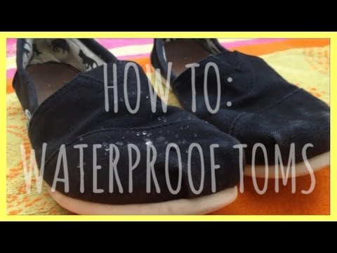 DIY: Waterproof Toms!