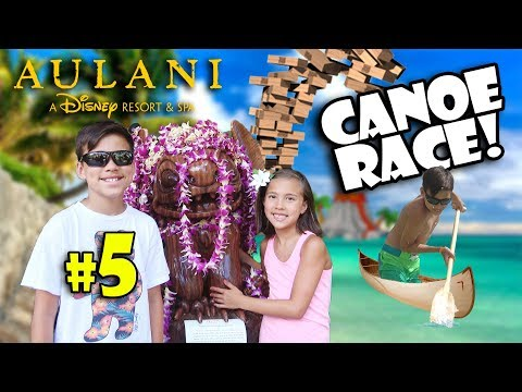 LAST DAY IN HAWAII - EVAN DESTROYS OUR BOAT!!! Disney's Aulani, Pearl Harbor, & Moana! #5