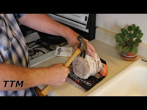 Easy Way to Break Apart Frozen Burgers