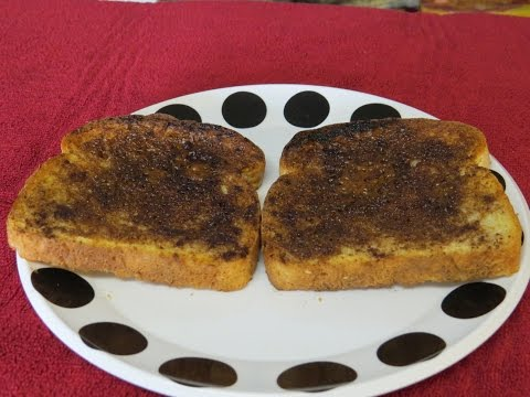 How to Make Cinnamon Toast in the Toaster Oven-Easy Recipe
