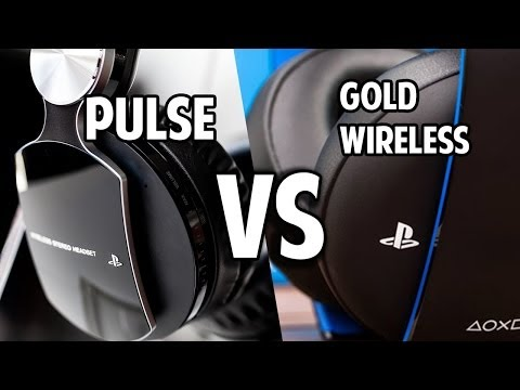 Comparison: Gold Wireless Headset vs Pulse Elite Edition Headset PS3/PS4