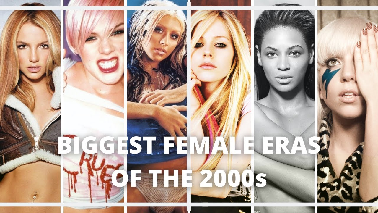 Top 5 Biggest Female Albums of Each Year (2000 – 2009)