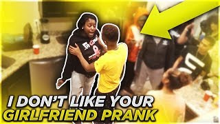 I DONT LIKE YOUR GIRLFRIEND JALIYAH PRANK ON MY SON FUNNYMIKE!! - getplaypk