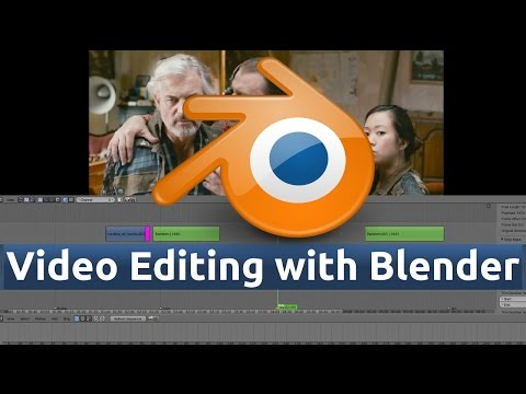 22 - Blender Video Editing (3D Viewport / Outliner / Subtitles with Scene Strip)