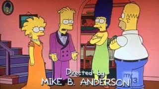 Bart & Lisa's Prom Photo