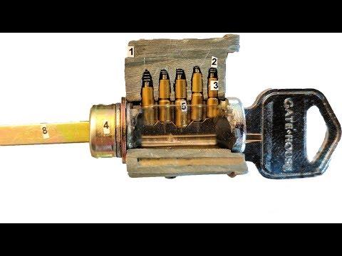 Door key lock reverse engineering school project