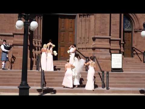 Irish wedding comes to church. Charleston. South Carolina. USA. 10.25.2014