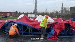 Circus Herman Renz Transport en opbouw Haarlem Deel 2