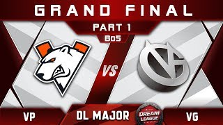 VP vs VG Grand Final Stockholm Major DreamLeague Highlights 2019 Dota 2 - [Part 1]