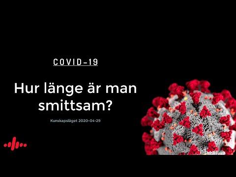 COVID-19: Hur länge är man smittsam?