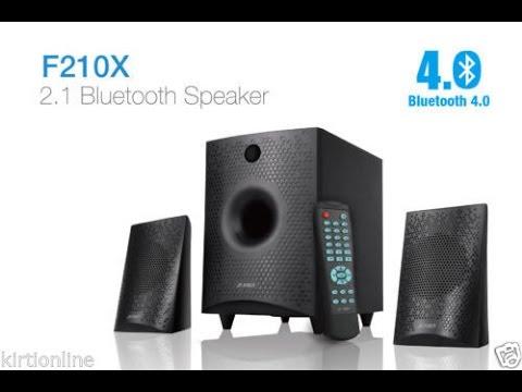 F&D F210X Bluetooth Speaker Unboxing And Sound Test-Bangla