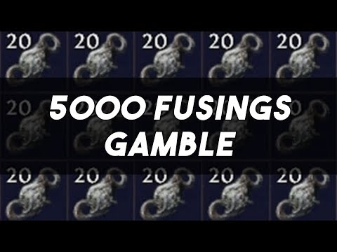 5000x Orb of Fusing 6-Link Attempts - PoE 3.2 Bestiary League