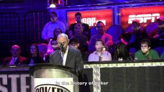 Barry Greenstein's Poker Hall of Fame Acceptance Speech